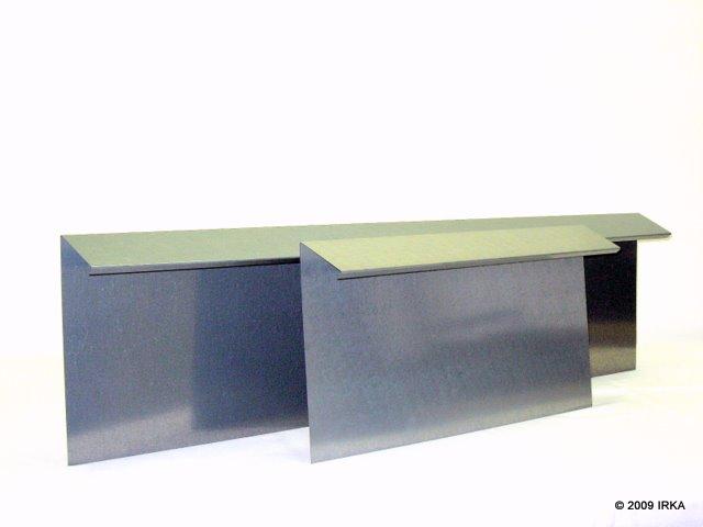 IRKA Schneckenzaun Typ2 Basiselement 1Meter Und 0,5 Meter